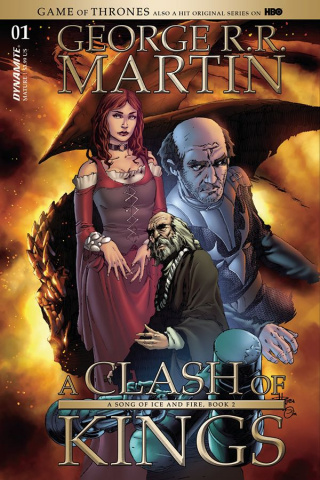 A Game of Thrones: A Clash of Kings #1 (Subscription Cover)