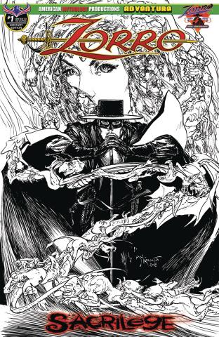 Zorro: Sacrilege #1 (Century Edition Cover)