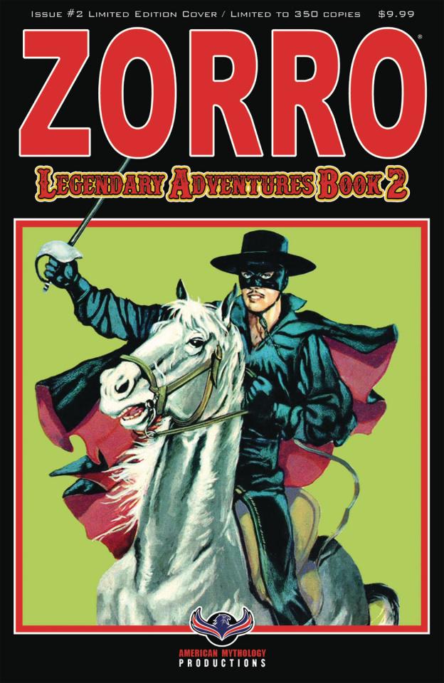 Zorro: Legendary Adventures, Book 2 #2 (Blazing Blades Cover)