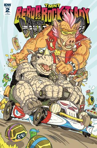 Teenage Mutant Ninja Turtles: Bebop and Rocksteady Hit the Road #2 (10 Copy Cover)