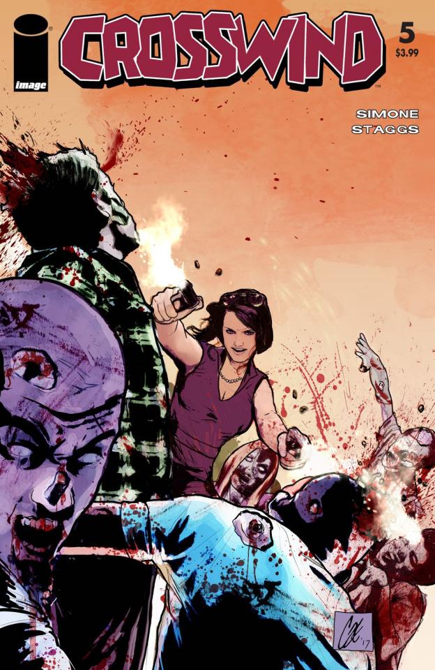 Crosswind #5 (Walking Dead #54 Tribute Cover)