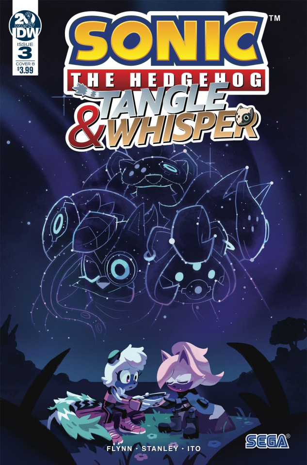 Sonic the Hedgehog: Tangle & Whisper #3 (Fourdrai Cover)