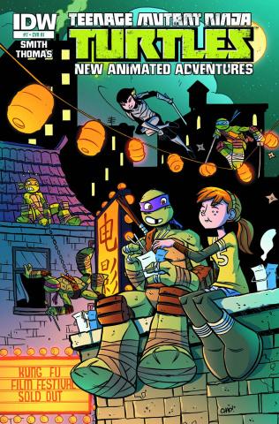 Teenage Mutant Ninja Turtles: New Animated Adventures #7