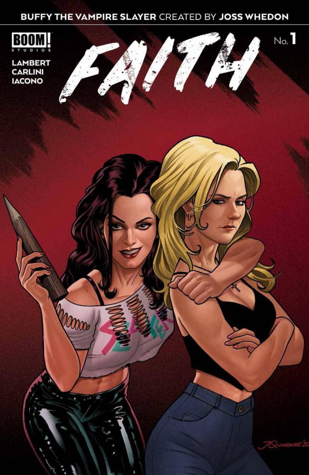 Buffy the Vampire Slayer: Faith #1 (10 Copy Quinones Cover)