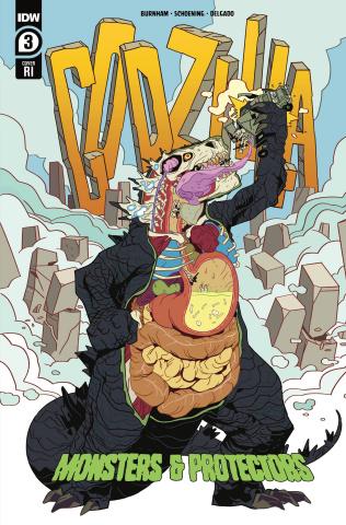 Godzilla: Monsters & Protectors #3 (10 Copy Monlongo Cover)