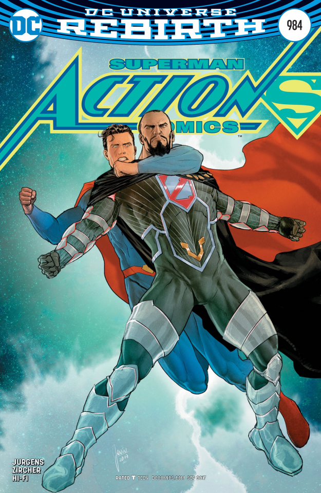 Action Comics #984 (Variant Cover)
