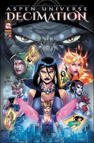 Aspen Universe: Decimation #1 (Renna Cover)