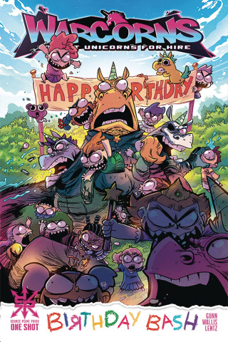 Warcorns: Birthday Bash #1 (Wallis Cover)