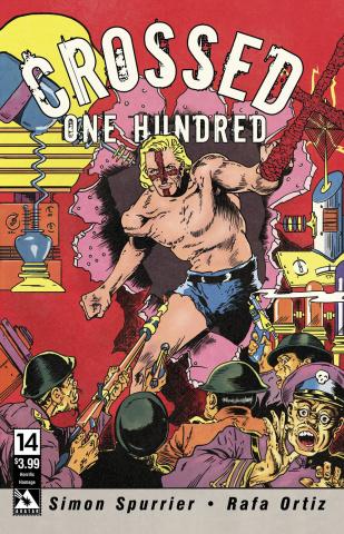 Crossed + One Hundred #14 (Horrific Homage Cover)