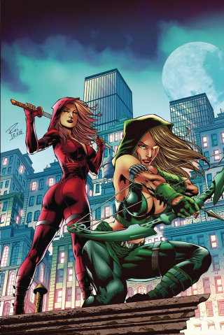 Grimm Fairy Tales: Robyn Hood - I Love NY #3 (Rei Cover)