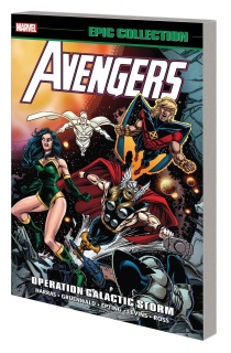 Avengers Epic Collection: Operation Galactic Storm