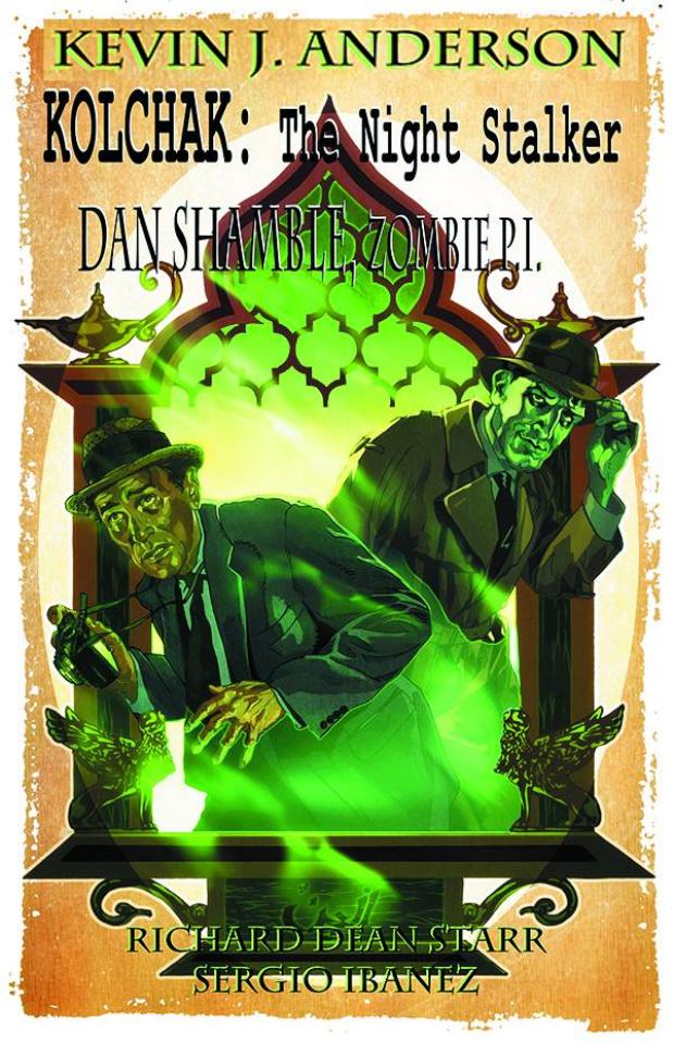 Kolchak: The Night Stalker / Dan Shamble: Zombie P.I. #1 (Hinton III Cover)