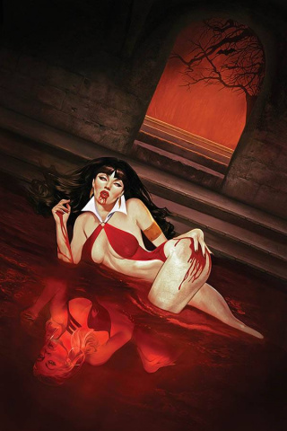 Vampirella #13 (Dalton Virgin Cover)
