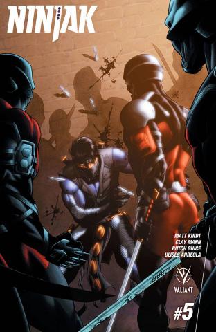 Ninjak #5 (20 Copy Cafu Cover)