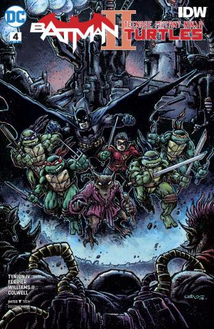 Batman / Teenage Mutant Ninja Turtles II #4 (Variant Cover)