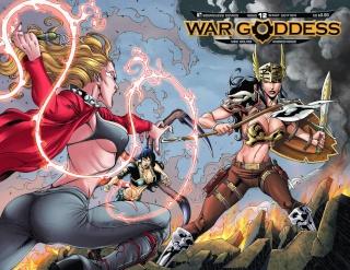 War Goddess #12 (Wrap Cover)
