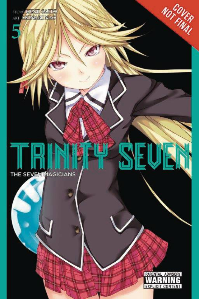 Trinity Seven Vol. 5