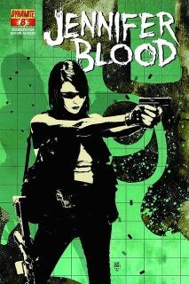 Garth Ennis' Jennifer Blood #8