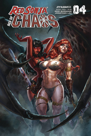 Red Sonja: Age of Chaos #4 (Quah Cover)