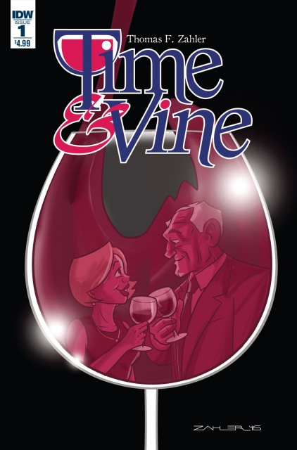 Time & Vine #1 (Zahler Cover)