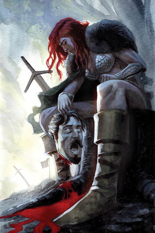 Red Sonja #13 (40 Copy Bob Q Virgin Cover)