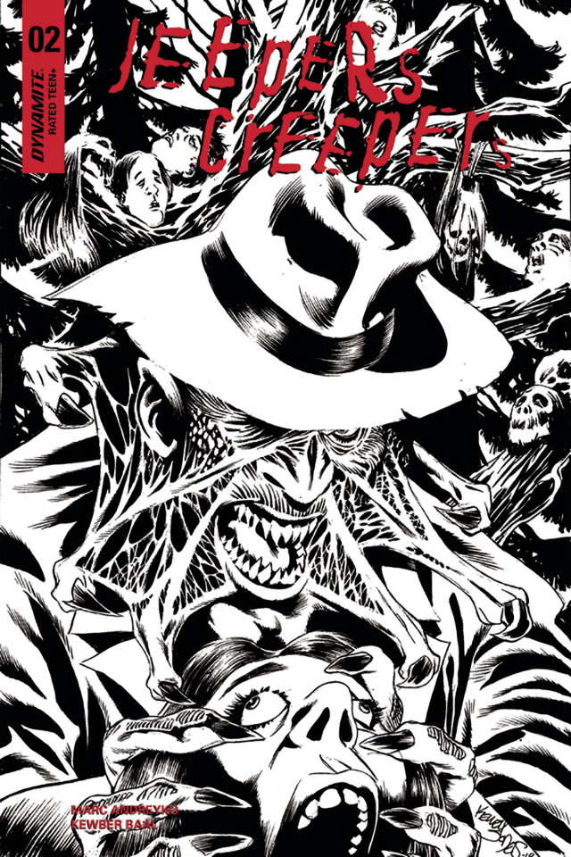 Jeepers Creepers #2 (10 Copy Jones B&W Cover)