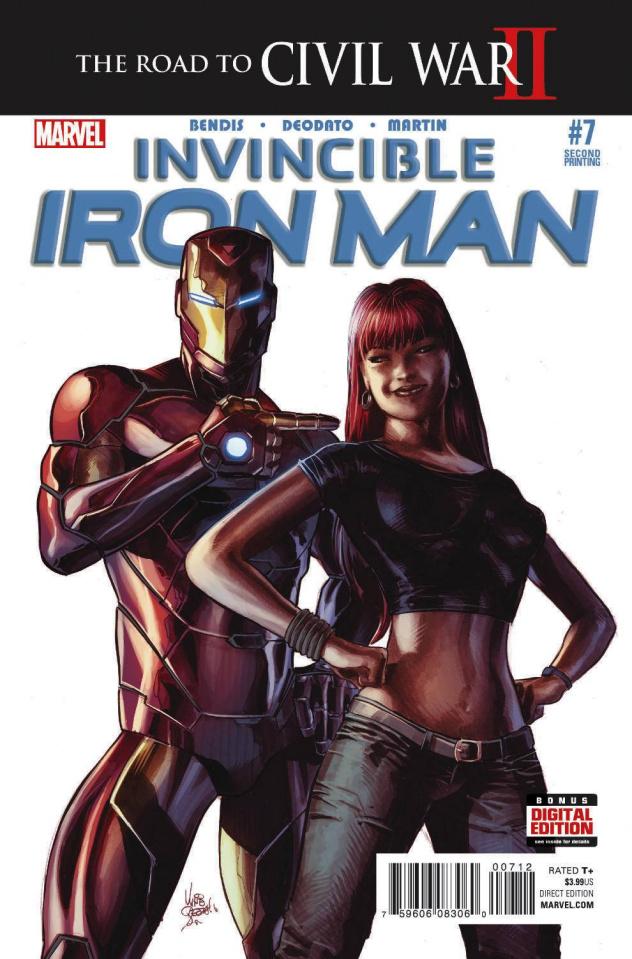 Invincible Iron Man #7 (Deodato 2nd Printing)