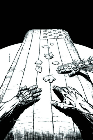 Justice League of America #5 (Black & White Variant)
