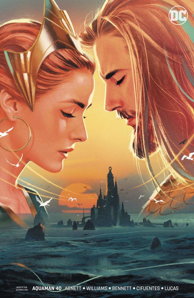 Aquaman #40 (Sink Atlantis Variant Cover)