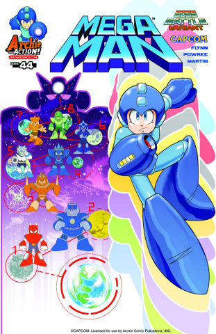 Mega Man #44 (Capcom Cover)