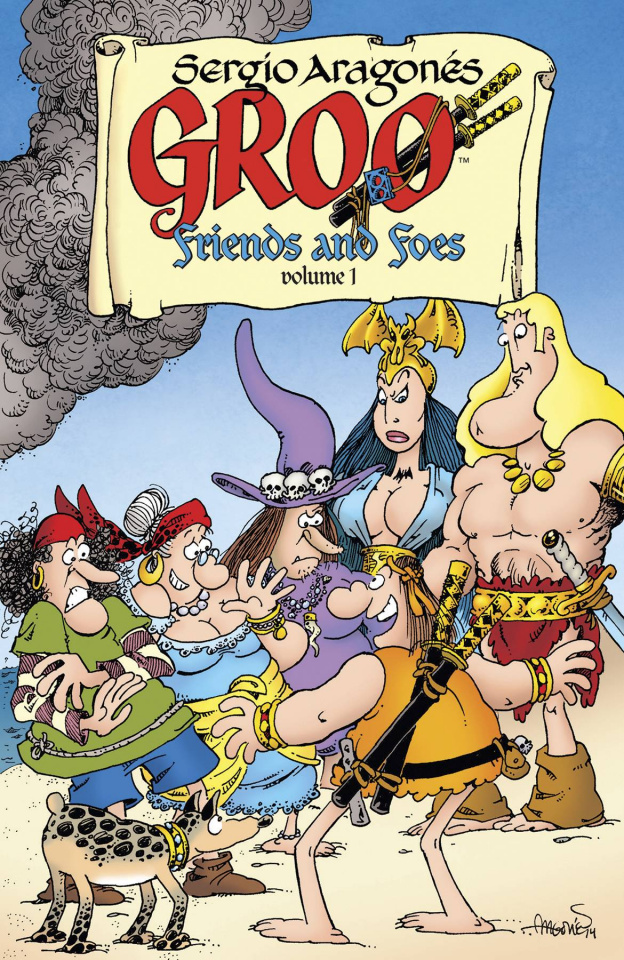 Groo: Friends and Foes Vol. 1