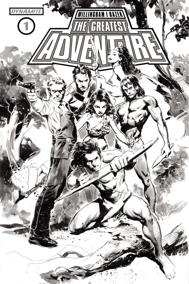 The Greatest Adventure #1 (30 Copy Nord B&W Cover)