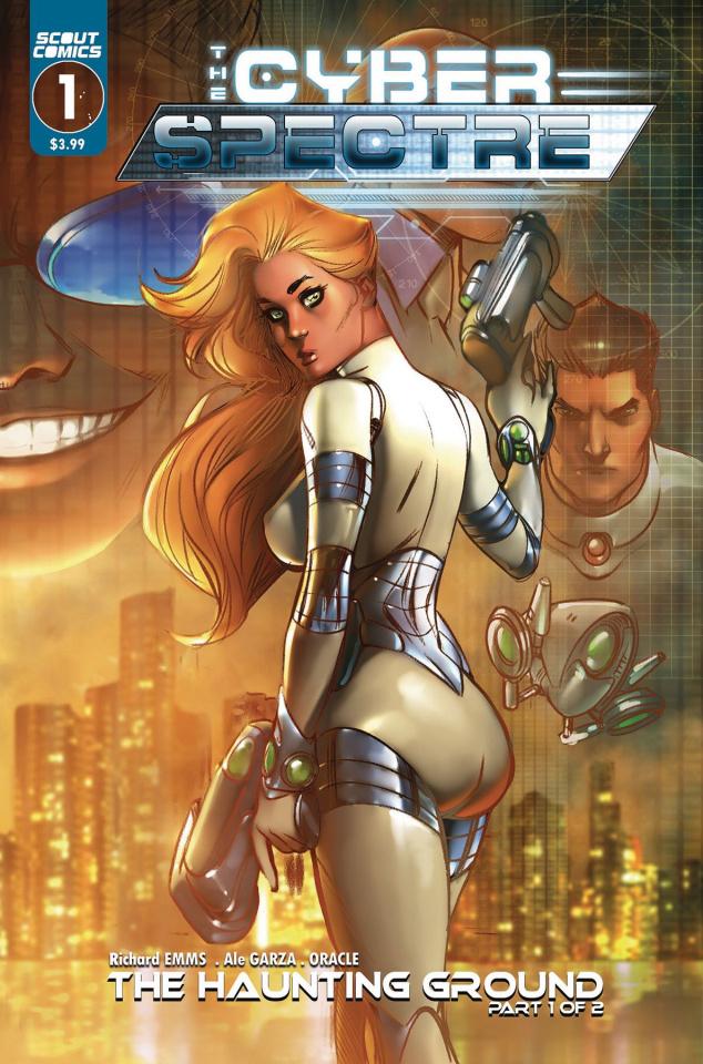The Cyber Spectre #1 (Ale Garza Cover)