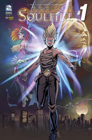 Soulfire #1 (Cafaro Cover)