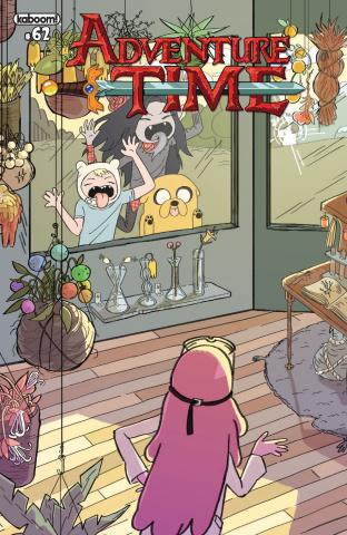 Adventure Time #62 (Subscription Woltjen Cover)