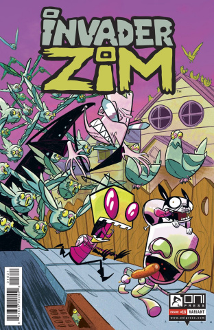 Invader Zim #18 (Conley Cover)
