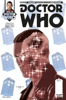 Doctor Who: New Adventures with the Ninth Doctor #12 (Qualano Cover)