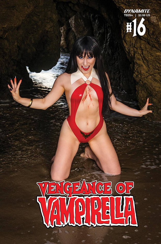 Vengeance of Vampirella #16 (Hollon Cosplay Cover)