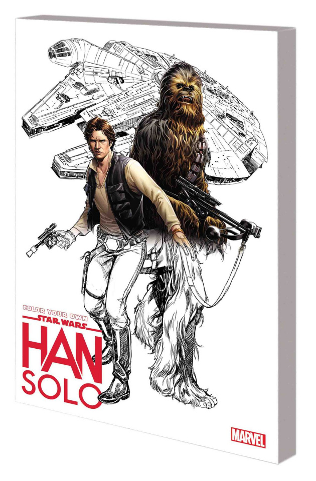 Color Your Own Star Wars: Han Solo