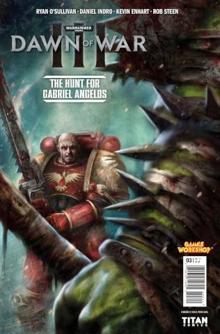 Warhammer 40,000: Dawn of War III #3 (Percival Cover)