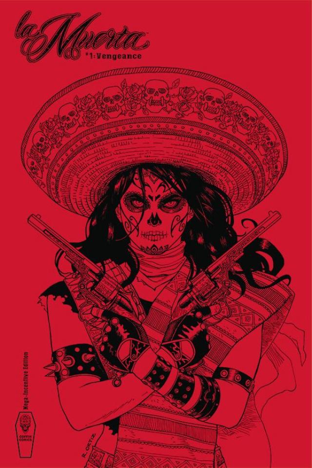 La Muerta: Vengeance #1 (Free Ortiz 50 Copy Mega Cover)
