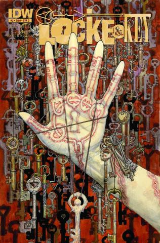 Locke & Key: Alpha #2 (Kaluta Cover)