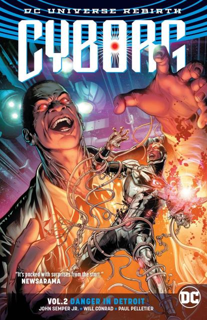 Cyborg Vol. 2: Danger in Detroit (Rebirth)
