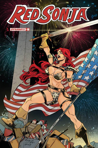Red Sonja #18 (7 Copy Miracolo America Together Cover)