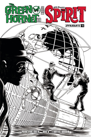 The Green Hornet '66 Meets The Spirit #1 (15 Copy Cover)