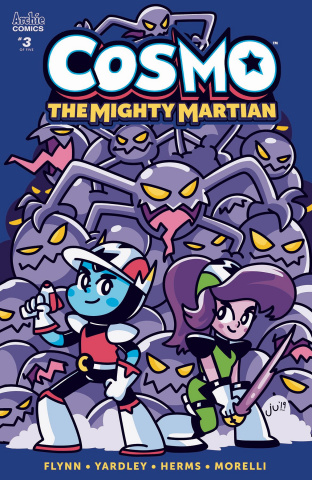 Cosmo: The Mighty Martian #3 (Ugarte Cover)