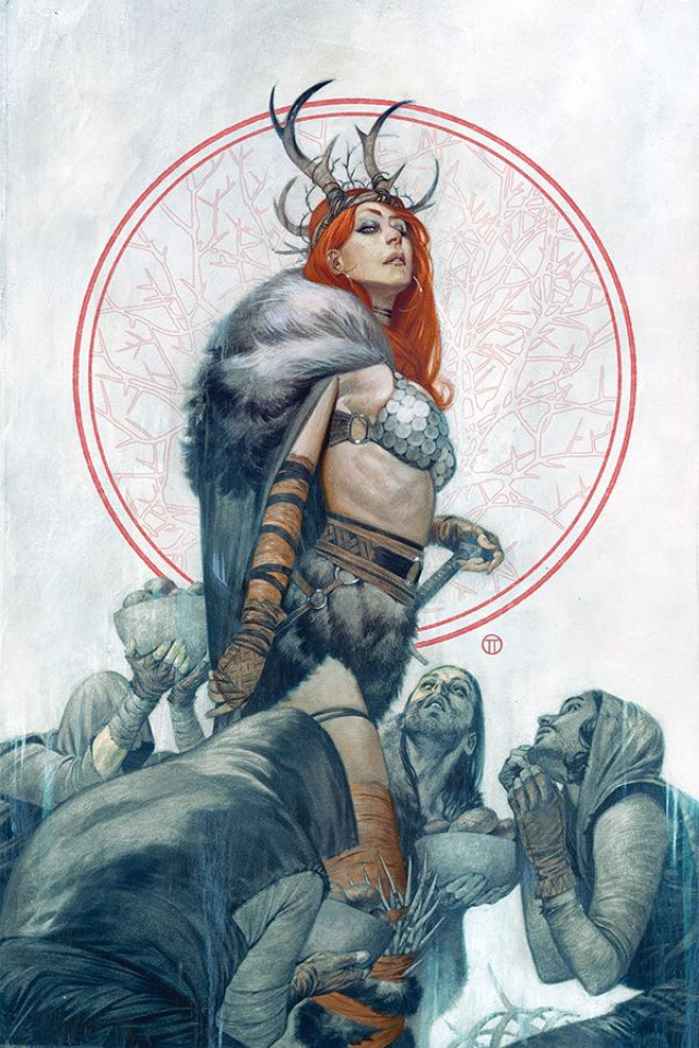 Red Sonja #3 (40 Copy Tedesco Virgin Cover)
