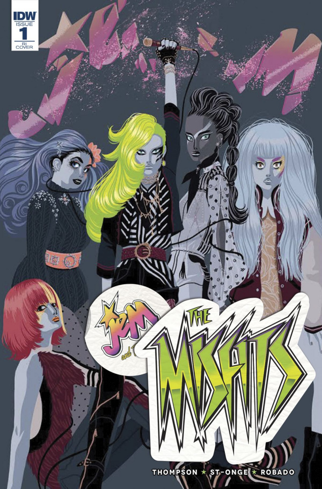 Jem and The Misfits #1 (10 Copy Cover)