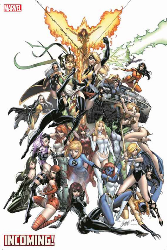 Incoming! #1 (JSC Women of Marvel Gem Cover)