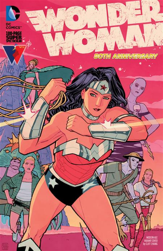 Wonder Woman: 80th Anniversary 100-Page Super Spectacular #1 (Cliff Chiang Modern Age Cover)